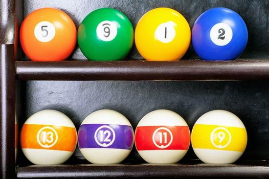 52610535 - billiard balls
