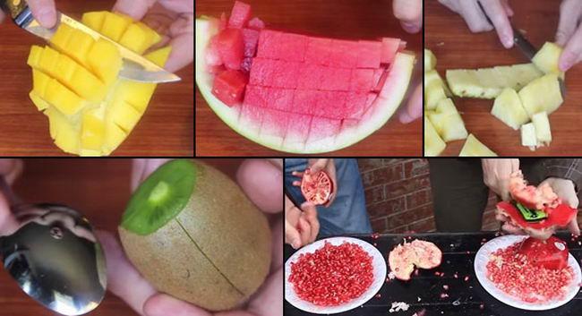 Paring-fruits